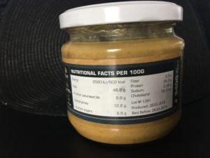 Fitnesslife.sk arašidové maslo od GymBeam