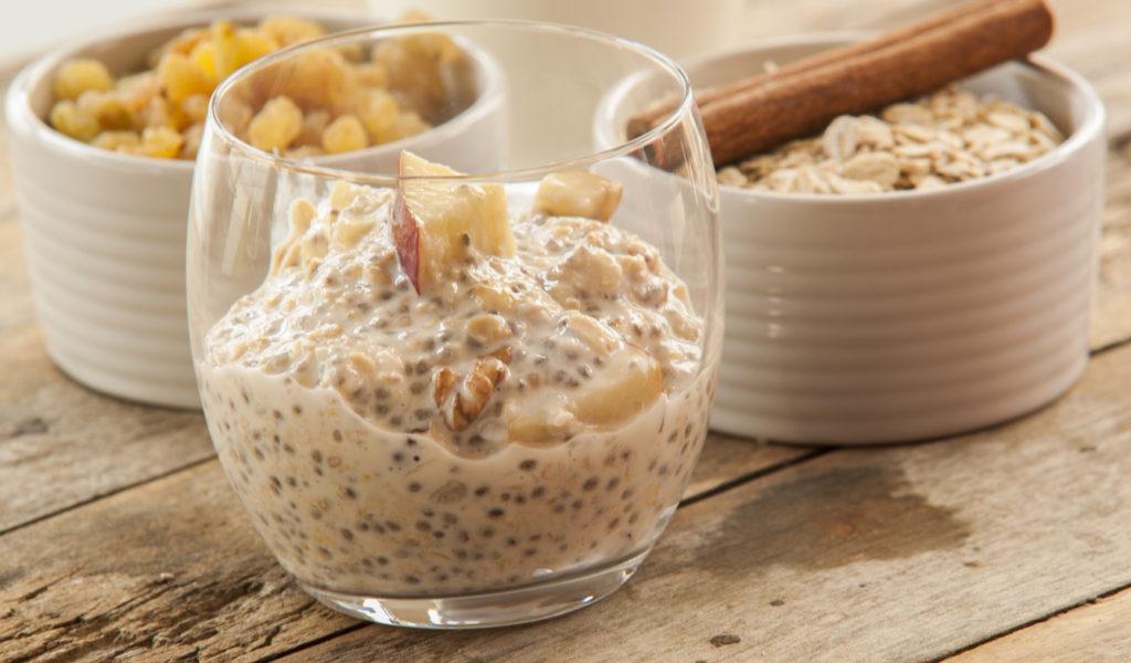recept na puding s chia semienkami