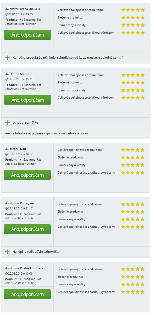 recenzie zákaznikov protein .sk