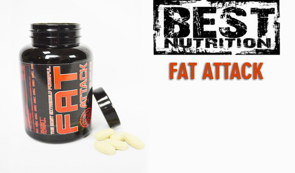 Fat attack od best nutrition spaľovač tukov