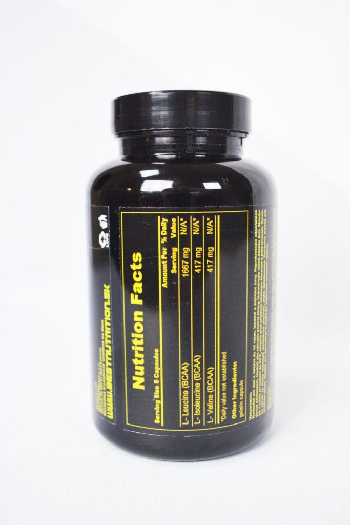 Bcaa 4:1:1 aminokyseliny nutričné hodnoty