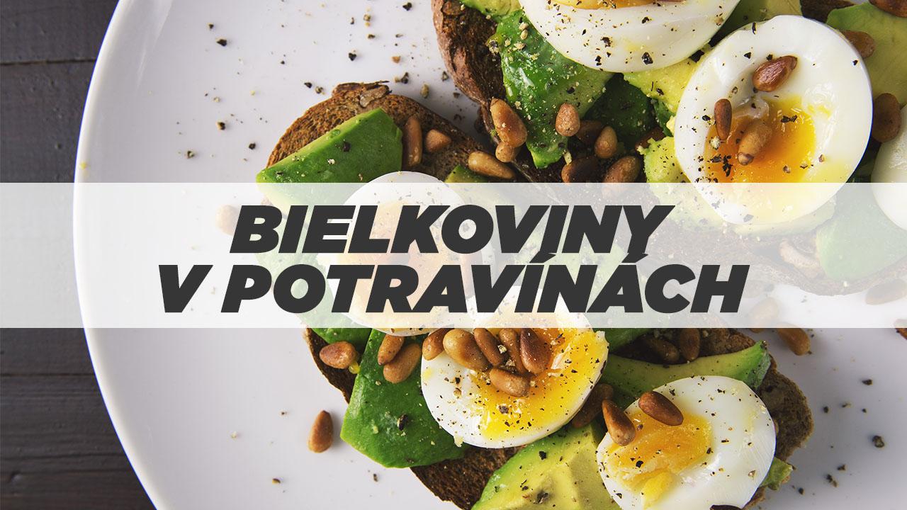 bielkovinové jedlo bielkoviny v jedle